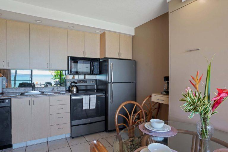 Photo of kitchen. Room 404