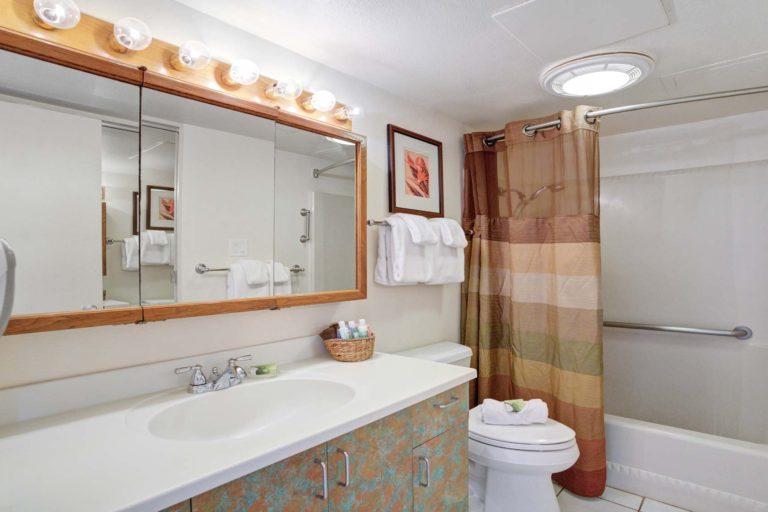 Photo of bathroom. Unit 509