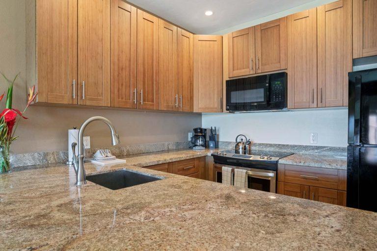 Photo of Kitchen. Unit 210